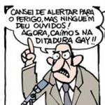 Cartunistas da Folha fazem BEIJAÇO contra Marco Feliciano