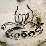 graffiti fim à guerra gloria nato calcada lisboa ascensor