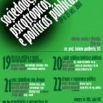 DDD (Dica Do DAR) – Semana da legalização e Semana de Debates sobre Sociedade, Psicotrópicos e Políticas Públicas.na USP
