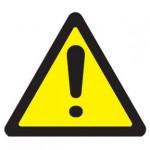 sinal de alerta