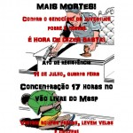 Nesta 4ª no MASP: manifestação contra as mortes na periferia