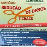 CEBRID realiza Simpósio Redução de Danos e Crack – apoio Centro de Convivência É de Lei