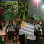Protesto na Praia de Ipanema pediu a legalização da maconha no país