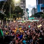 Uma marcha de 13 minutos de comprimento – ainda vão dizer que tinha só 3 mil pessoas?