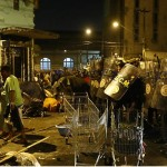 """""""Baltimore é aqui"""" vira grito de guerra na Cracolândia"""