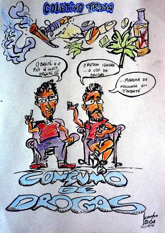 Crédito: Leandro Caricaturas