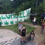 Marcha da Maconha regional agita praça na zona sudoeste de SP