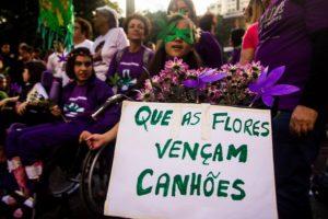 Crianças que fazem uso de maconha medicinal também somaram na Marcha. Crédito: FotoAtivismo