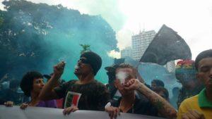 Quem viu esse fumacê não esquece - mesmo com a erva na mente. Crédito: Pedro Nogueira