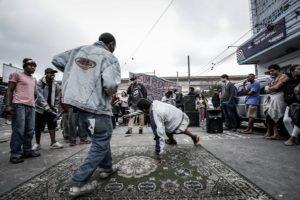 Rap Móvel, atividade da Craco Resiste.