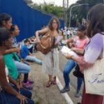Em ato, organizações sociais conversam com egressos e familiares no Fórum Criminal da Barra Funda