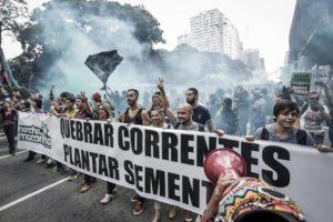 Maconhaço, na saída da Marcha / Foto: Alice Vergueiro