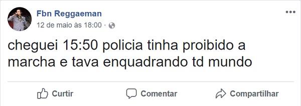 foto1 No Grajaú, polícia ainda não entendeu que falar de maconha não é crime